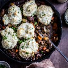 sausage biscuit skillet with guinness