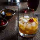 maple bourbon cocktail