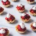 mini cranberry apple tarts