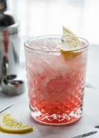 Meyer Lemon Raspberry Fizz